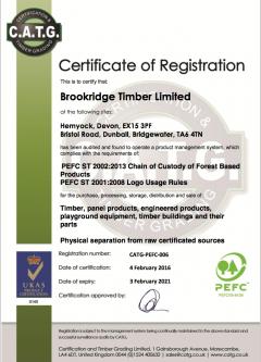 PEFC Certificate
